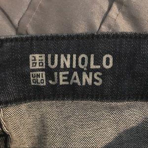 Blue Uniqlo jeans